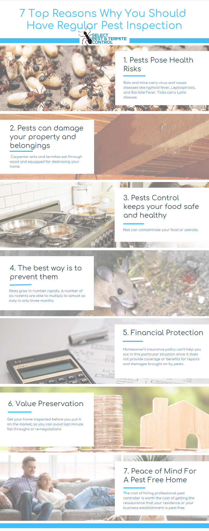 why pest inspections is necessary infographic